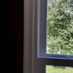 Close up of new window
