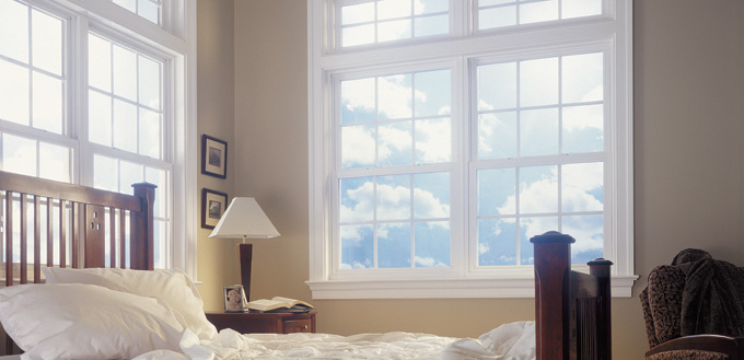 Double Hung Foam Fill Windows by Mi