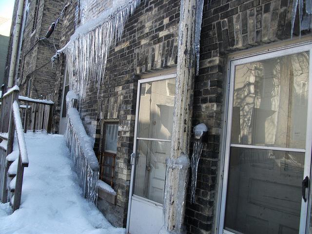 Icy Entryways