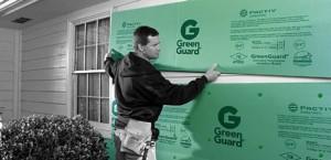 GreenGuard Fanfold Siding Underlayment