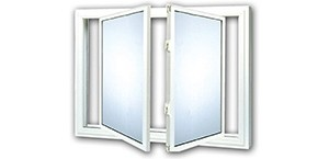 Vinyl Kraft EZ Tilt Windows