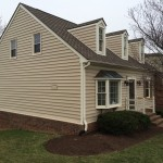 New siding installation in Roanoke