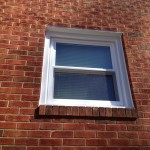 Window replacement brick home