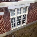 Vinyl window install 2