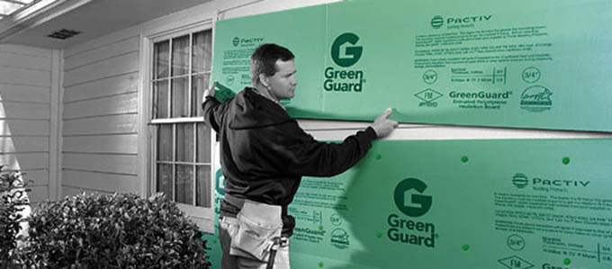 Empire Siding And Windows Greenguard Fanfold Siding Underlayment