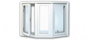 Vinyl Kraft Bay Windows