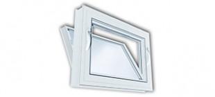 Vinyl Kraft Hopper Windows