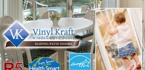 Vinyl Kraft Sliding Patio Doors